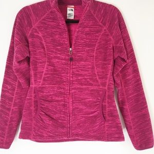 Fuschia Pink North Face Jacket